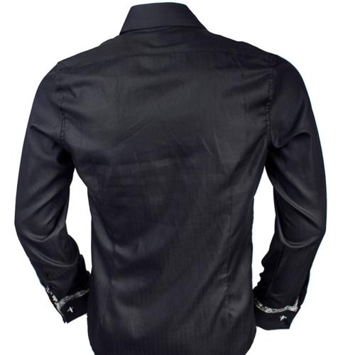 Black Green French Cuff Shirts