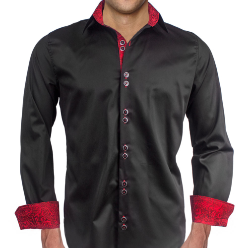 Red Archives Mens Modern Dress Shirts