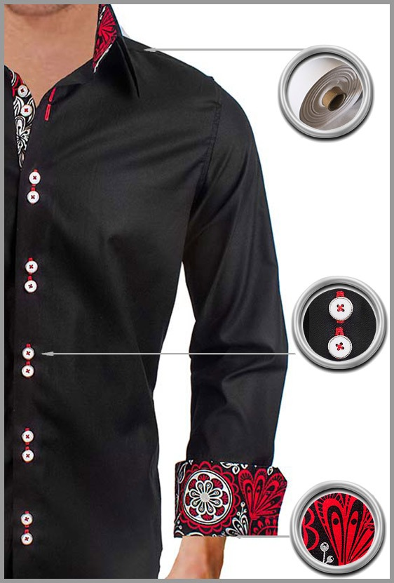 Modern Black Dress Shirts