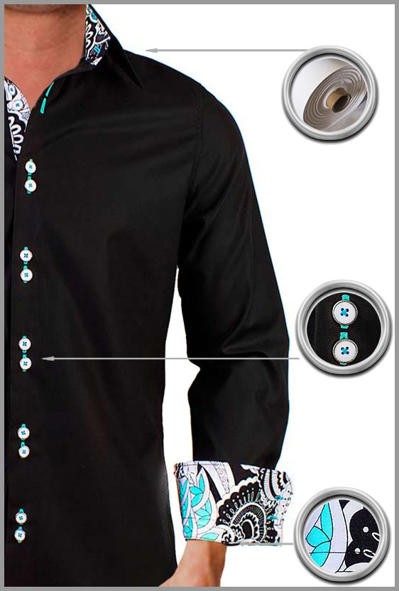 Black Casual Dress Shirts