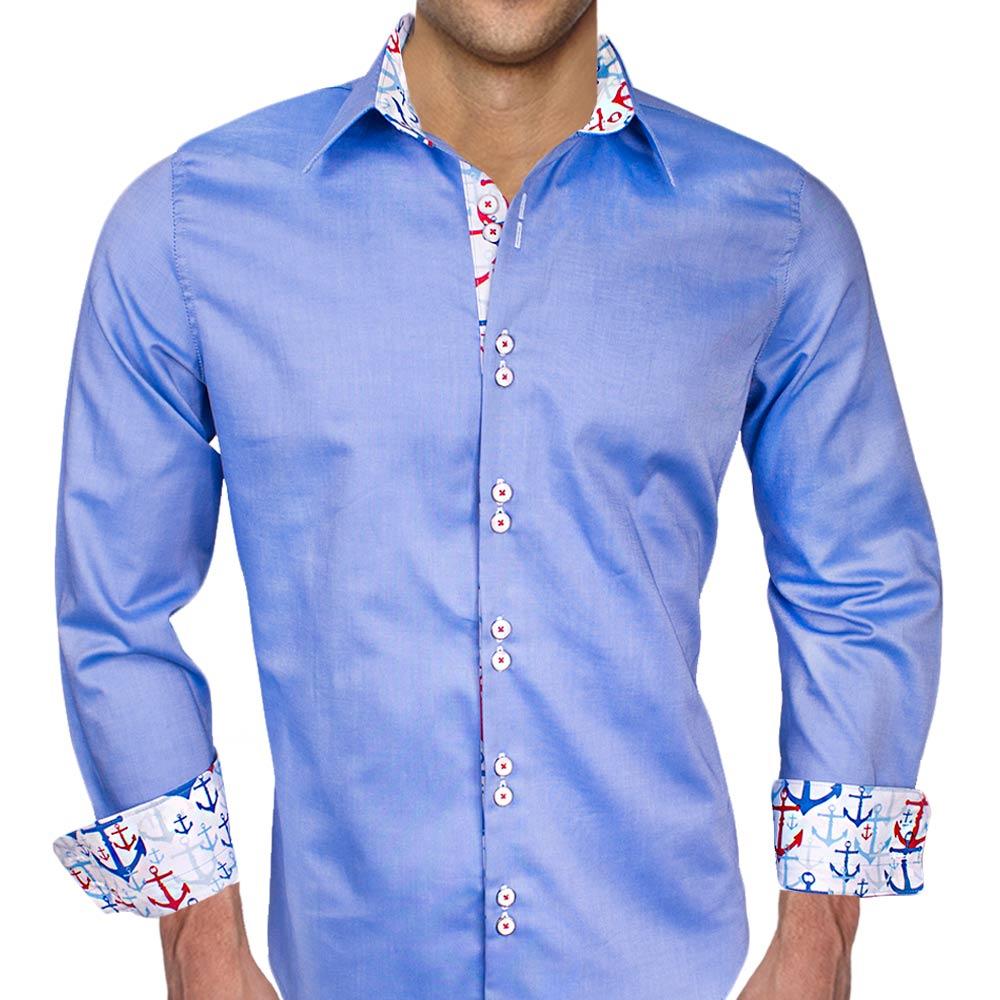 Blue Anchor Dress Shirts