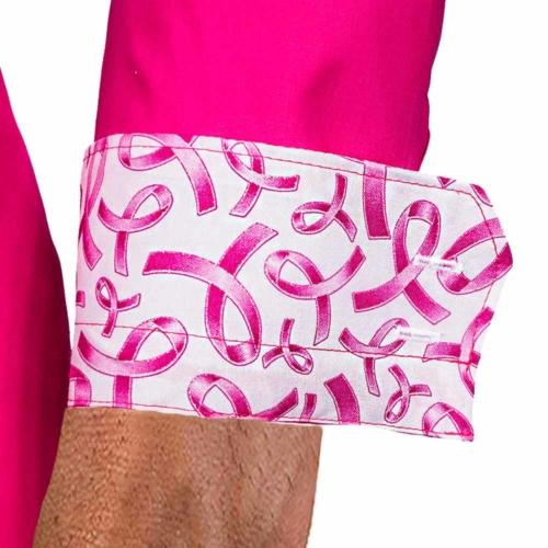 Pink Breast Cancer Dress Shirts