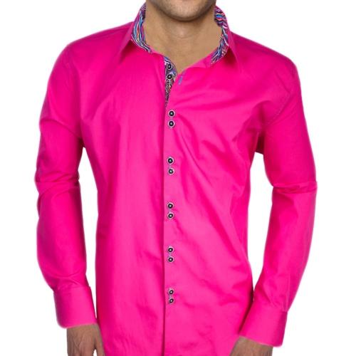 Bright Pink Dress Shirts