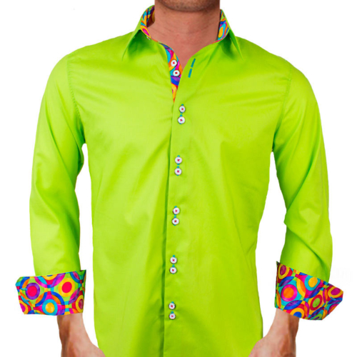 bright-green-designer-dress-shirts