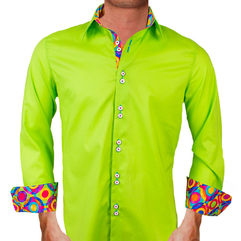 Lime Green Dress Shirts
