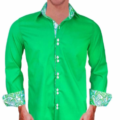 bright-green-with-white-paisley-dress-shirts