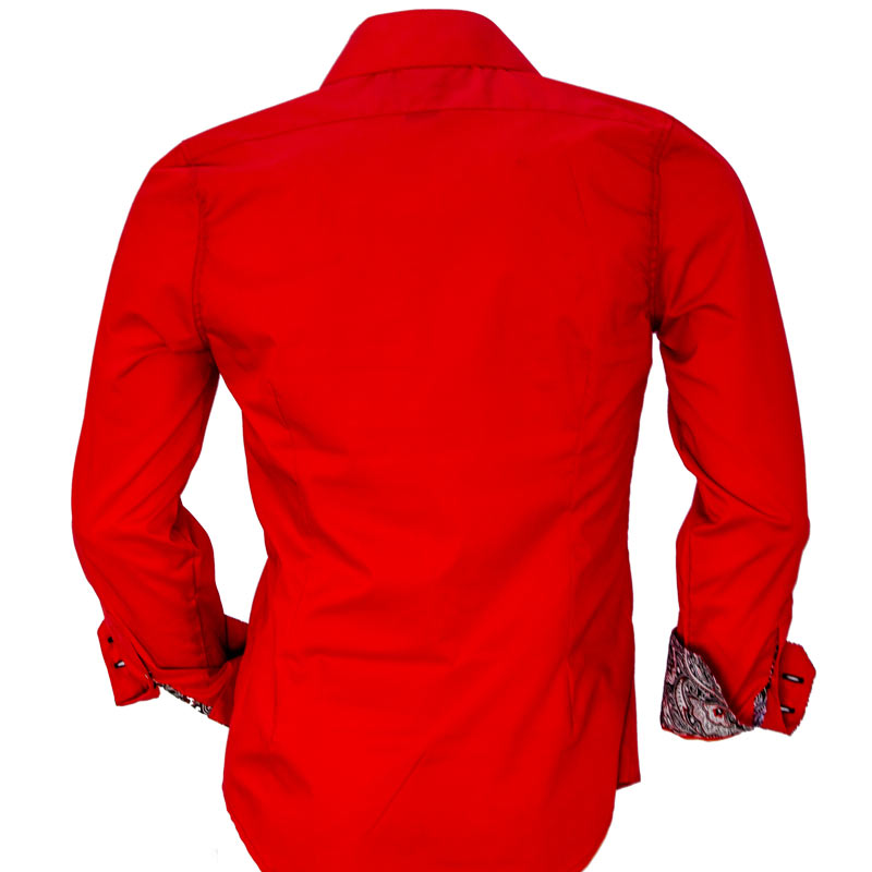 bright-red-dress-shirts