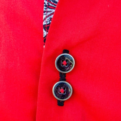 bright-red-with-black-dress-shirts