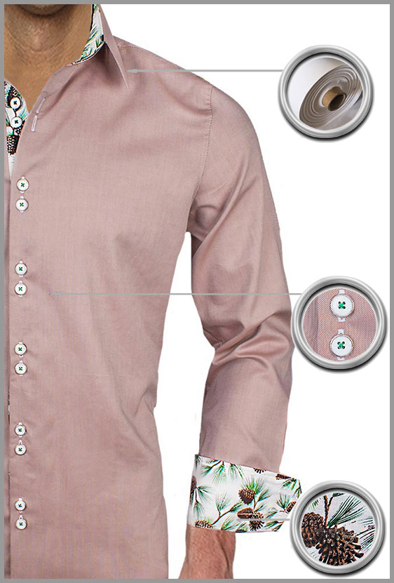 Christmas themed dress shirts