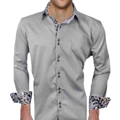 Gray Black Dress Shirts