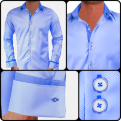 light-blue-french-cuff-dress-shirts