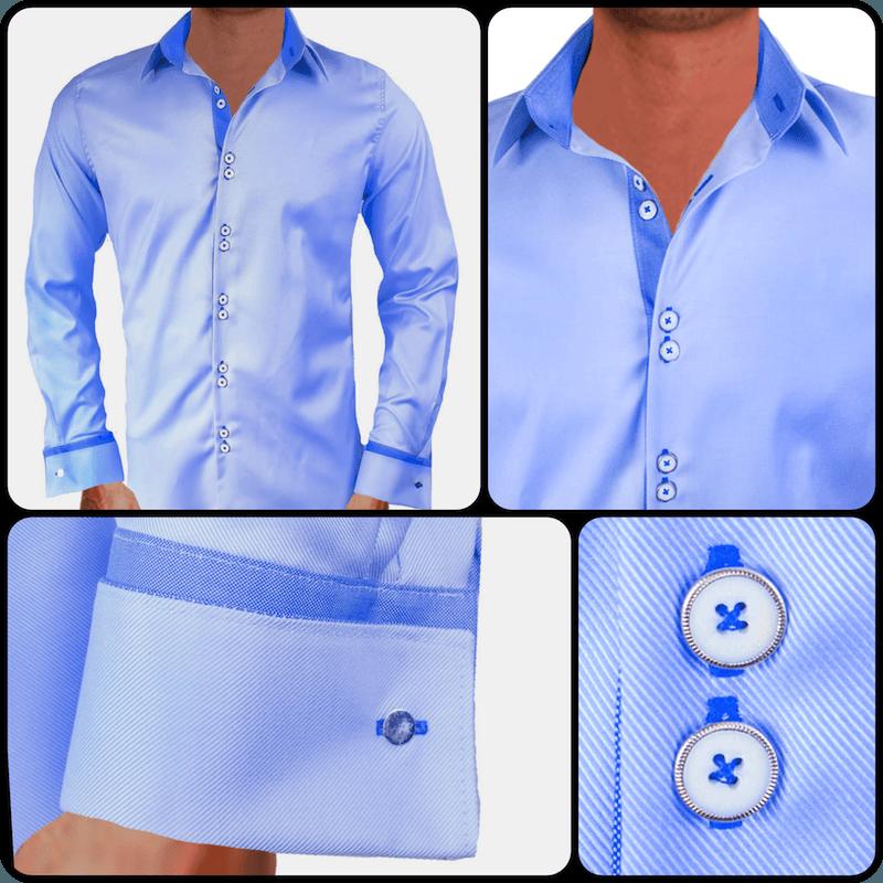 light-blue-french-cuff-dress-shirts