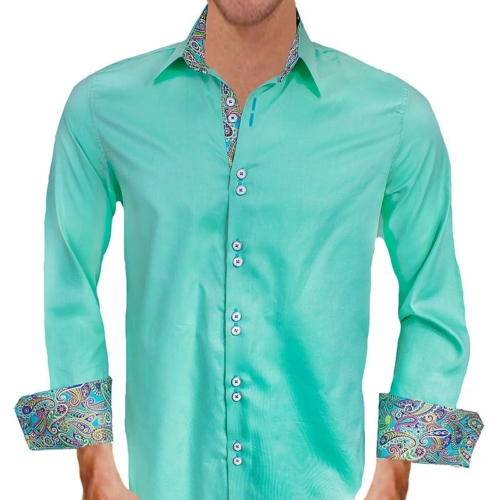 light-green-with-multi-colored-dress-shirts