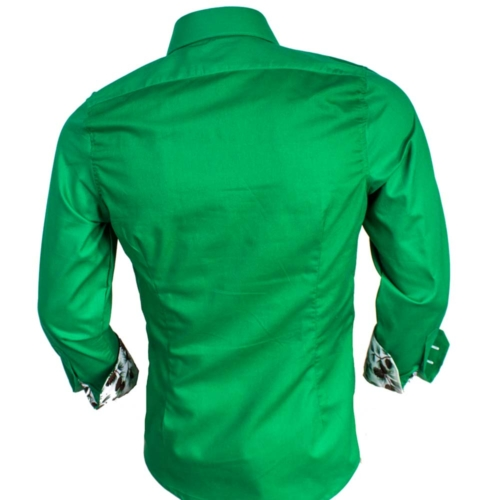 Green Christmas Dress Shirts
