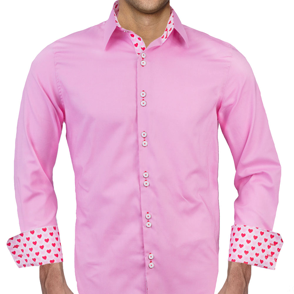 Valentines Day Dress Shirts