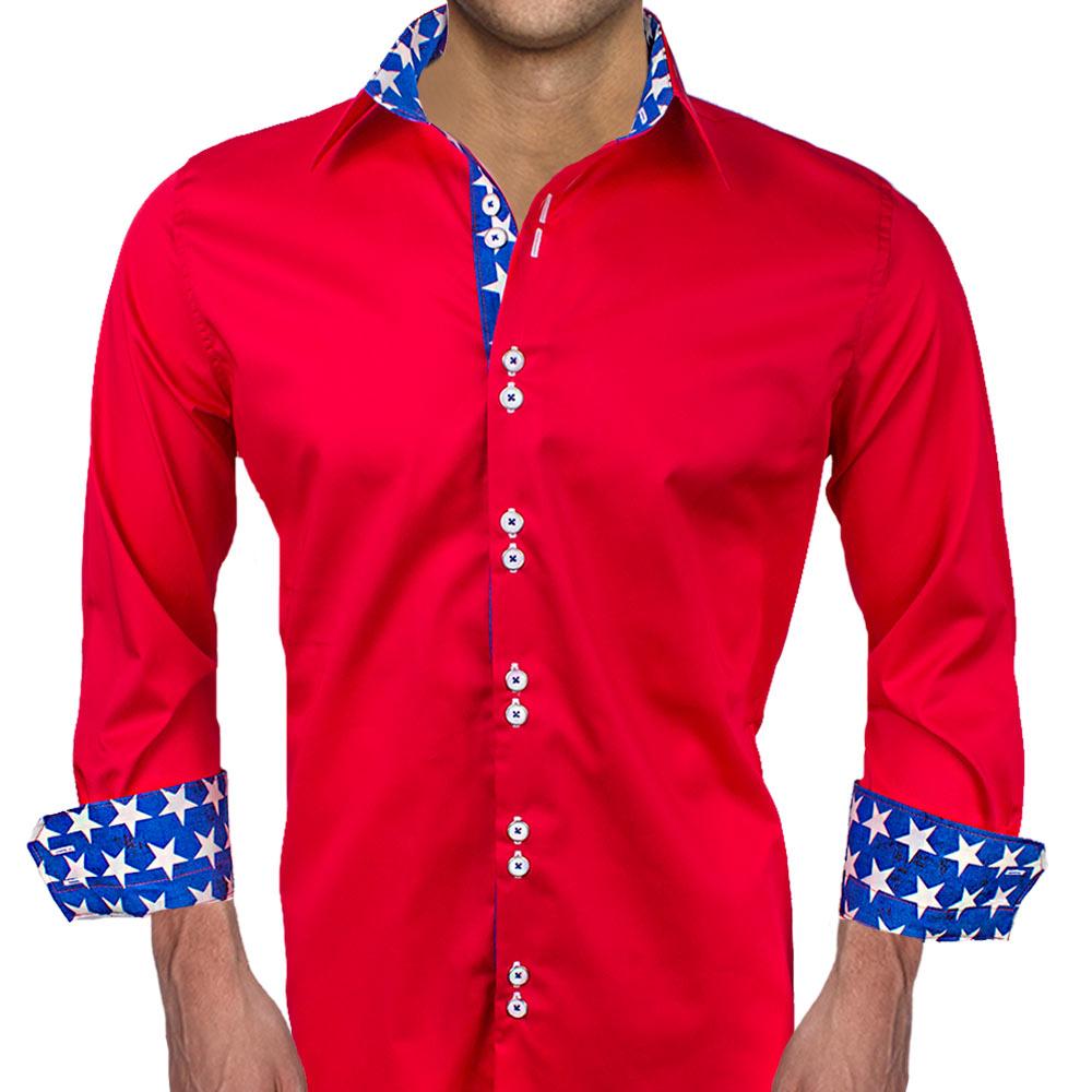 American flag dress shirts for Custom design dress shirts