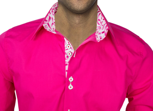 Pink Breast Cancer Dress Shirts