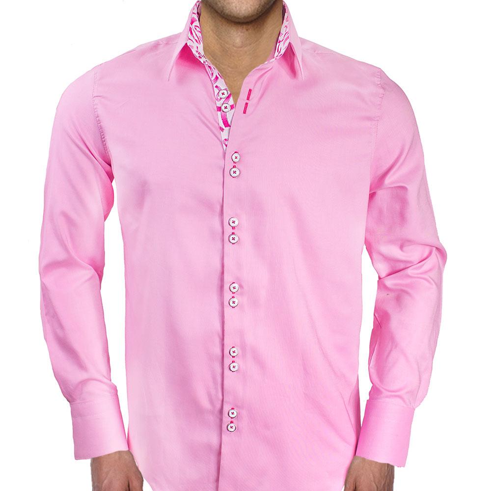 Pink Breast Cancer Mens Shirts
