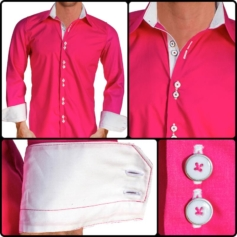 pink-with-white-cuffs-dress-shirts