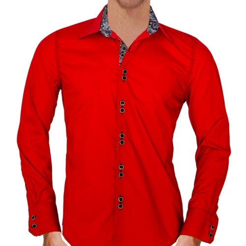 red-dress-shirts