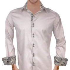 Tan Black Dress Shirts