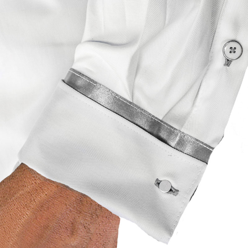 white-and-silver-french-cuff-dress-shirts