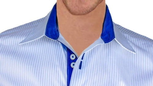 white-with-blue-designer-dress-shirts