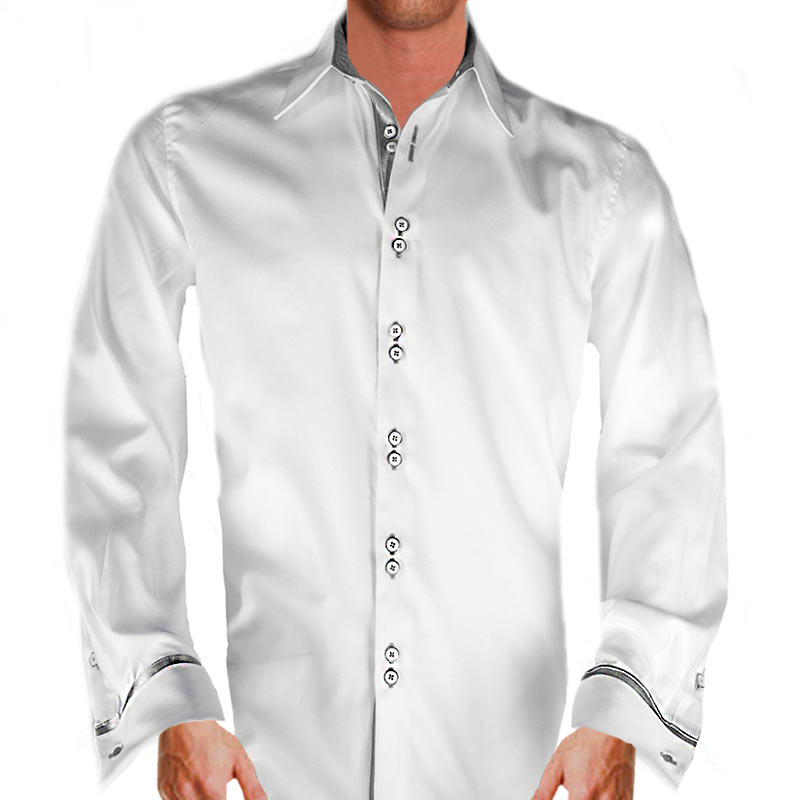 white-with-silver-dress-shirts