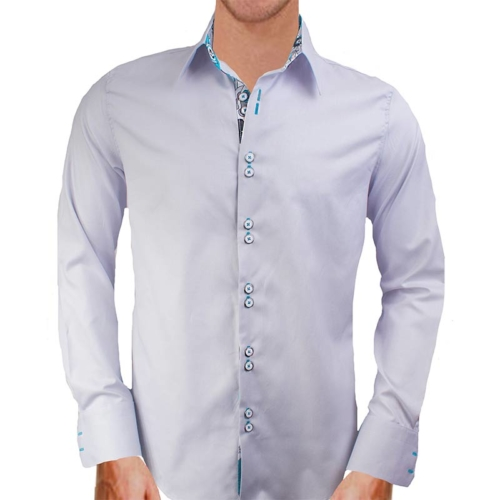 gray-and-teal-dress-shirts