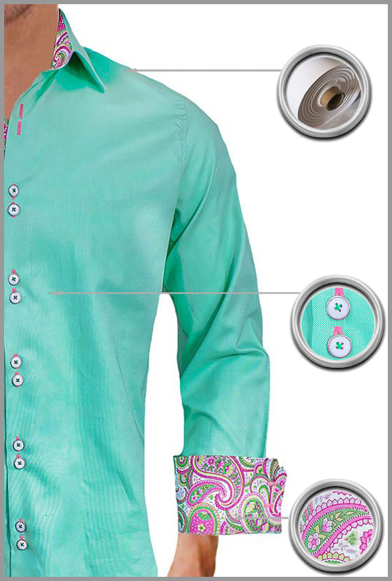 Mint Green Dress Shirts