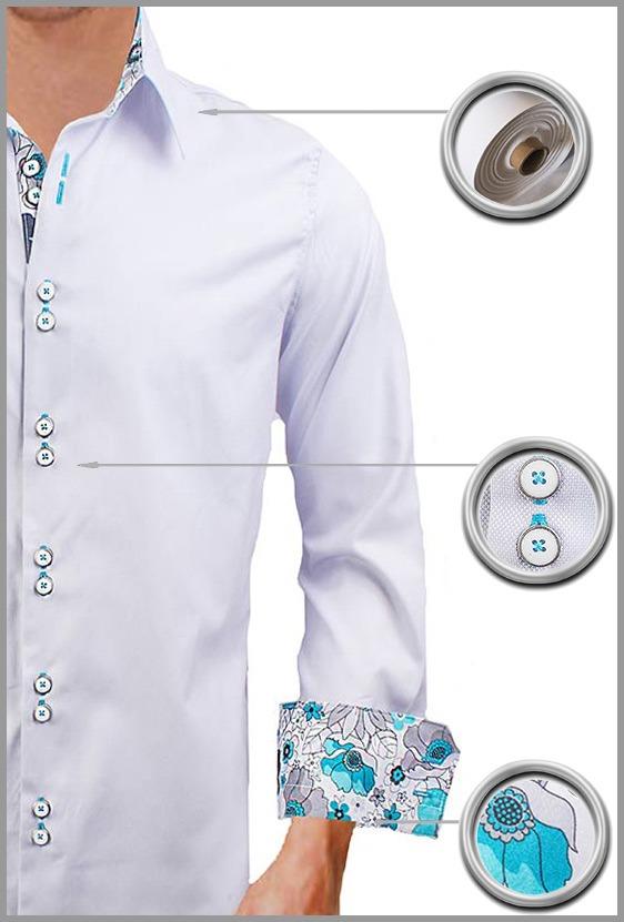 Gray Oxford Dress Shirts