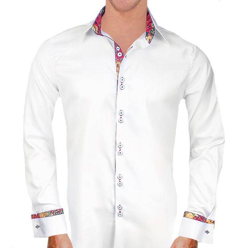 French Cuff Christmas Dress Shirts