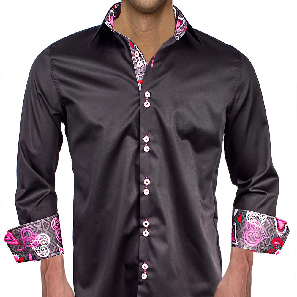 Mens Valentines Day Dress Shirts