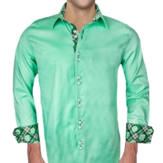 Green Irish Dress Shirts