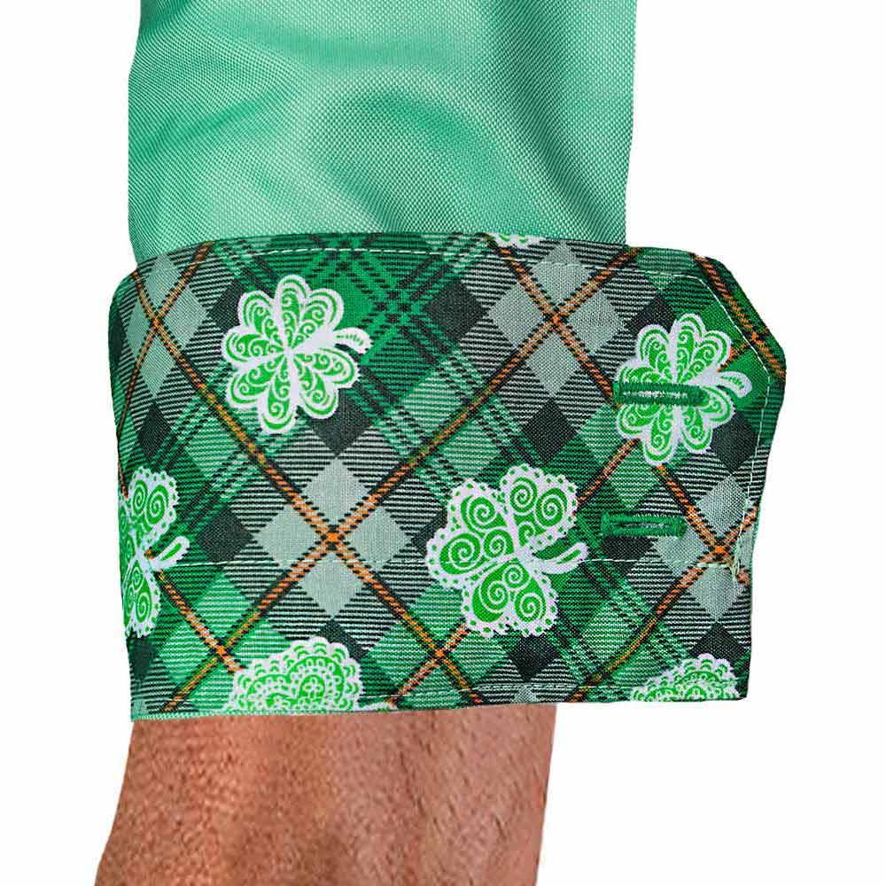 Green Irish Dress Shirts