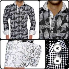 Fun Print Dress Shirts