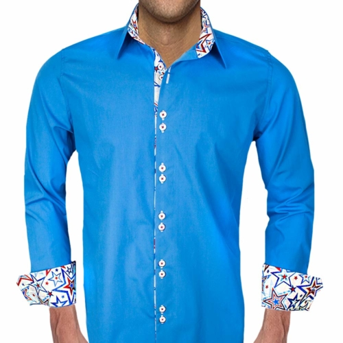Dress Shirt with Stars