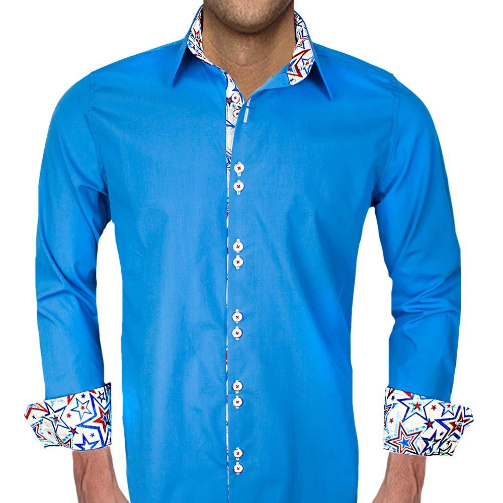 Dress Shirt with Stars