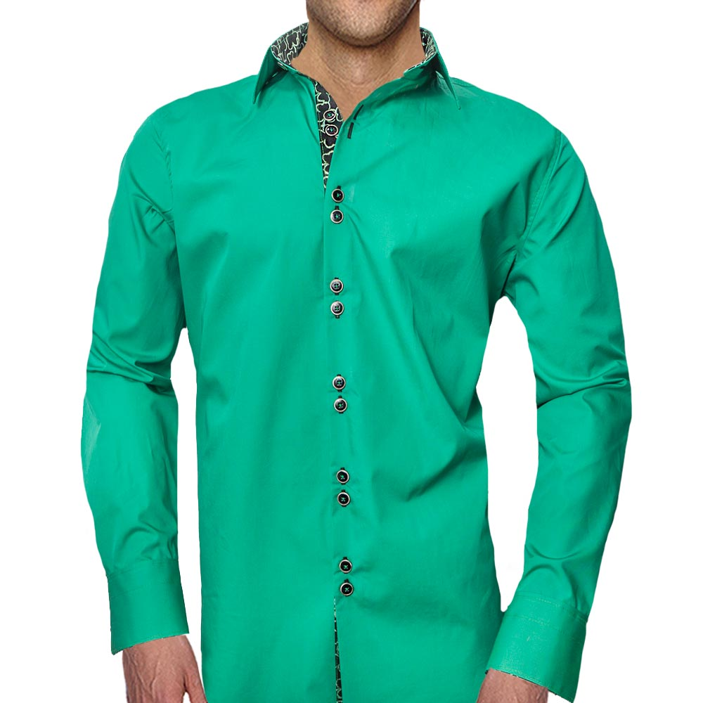 Green St Patricks Day Casual Shirts