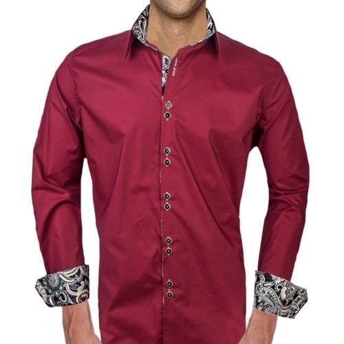 Maroon Casual Shirts
