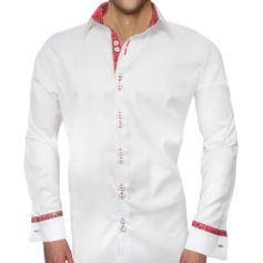 Christmas French Cuff Dress Shirt
