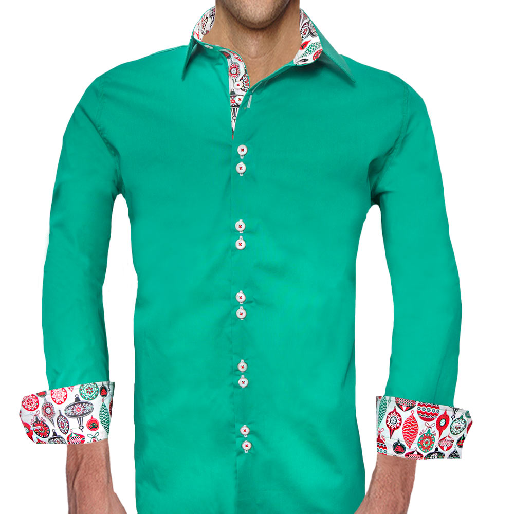 green christmas shirts - Green Christmas Dress