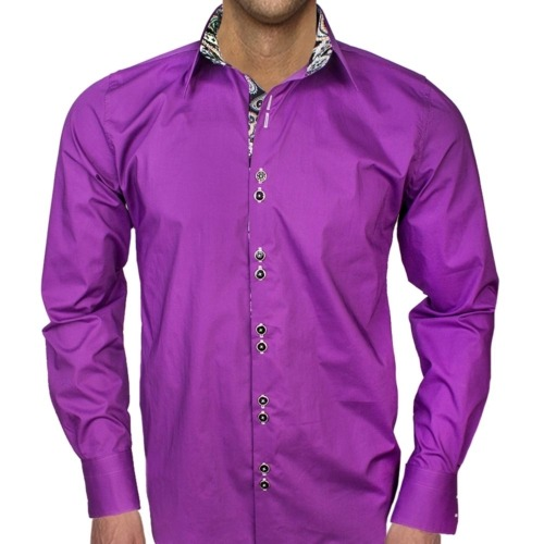 Plum Dress Shirts