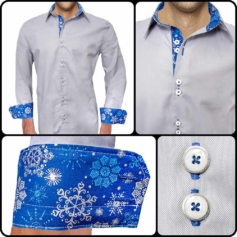 Winter Themed Dress Shirts