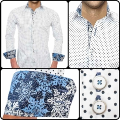 Winter Accent Dress Shirts
