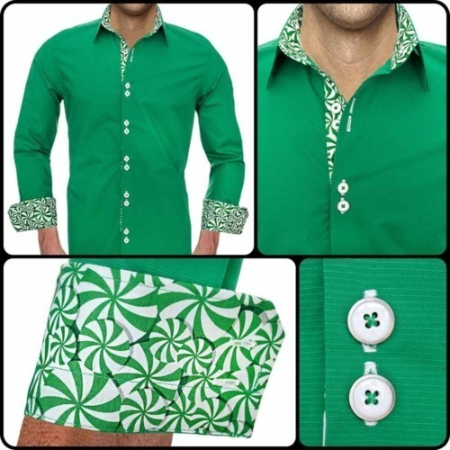 Mens Christmas Dress Shirts