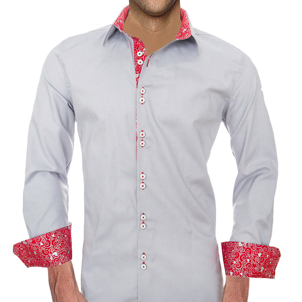 Dress Shirts with Hearts