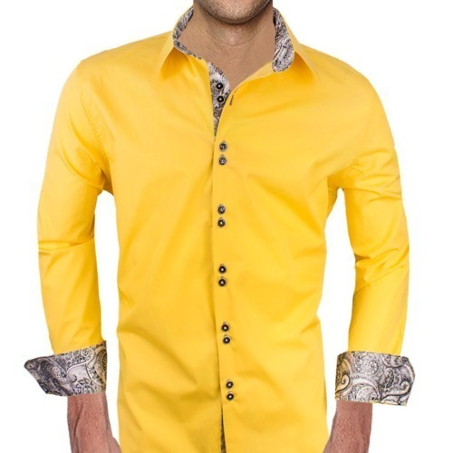 Bright Yellow Dress Shirts