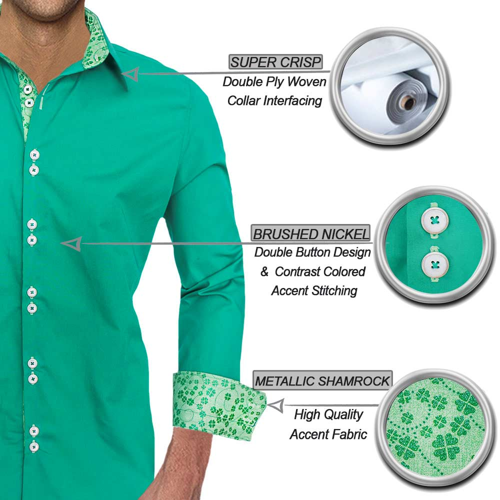 Green-shamrock-shirts