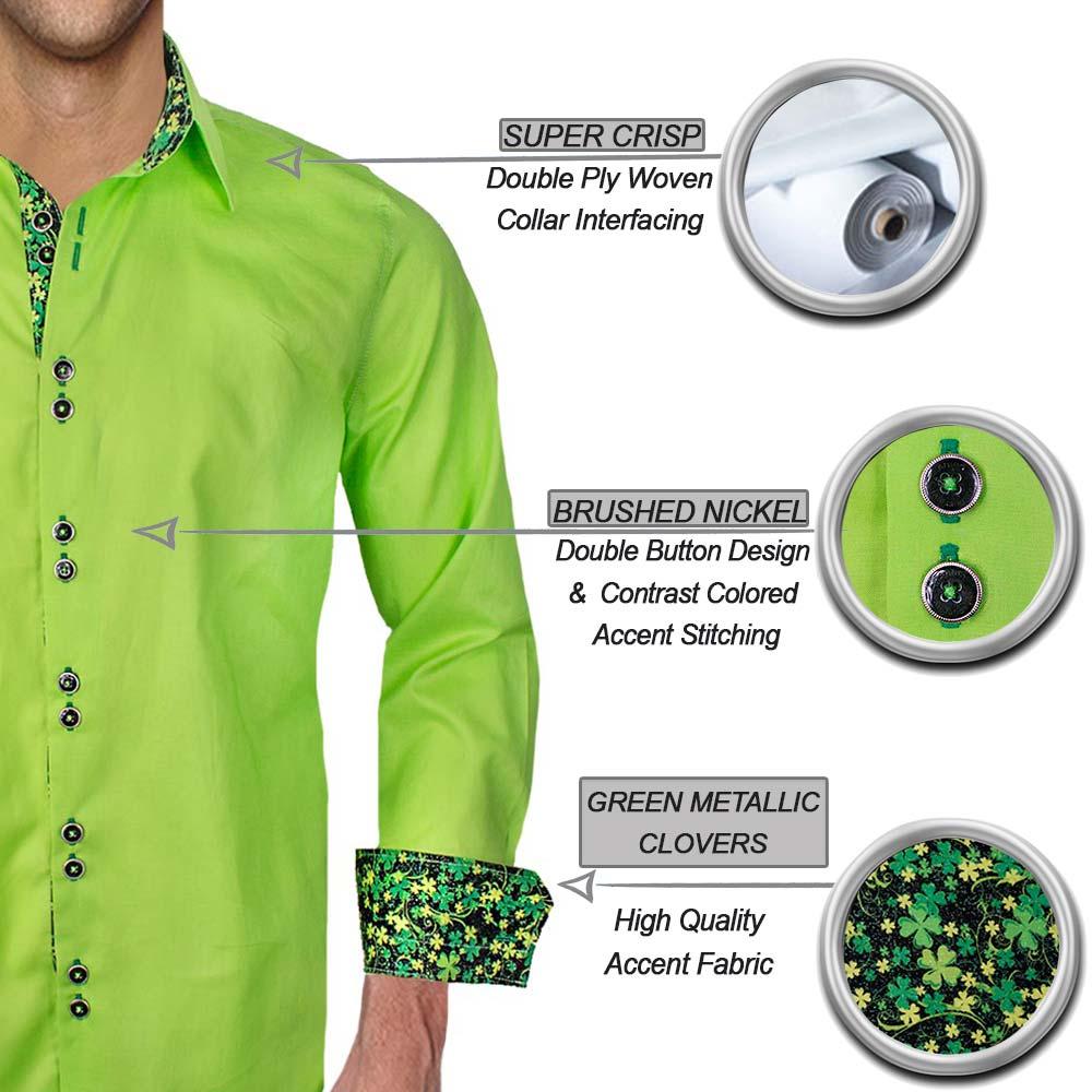 Light Green Irish Dress Shirts